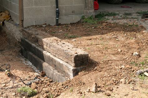 Landscape Ties How To Make Railroad Ties Landscaping Front Yard