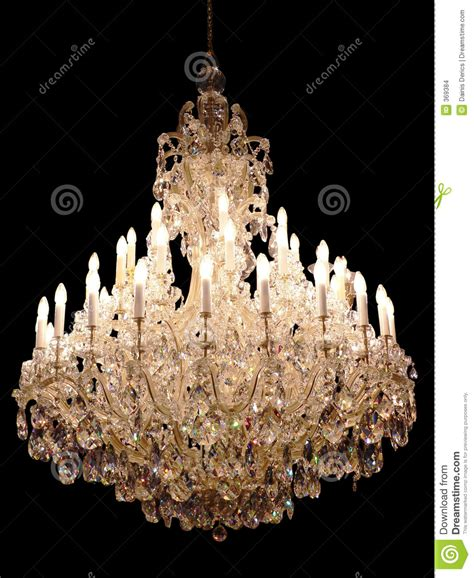crystal chandelier stock images image 369384