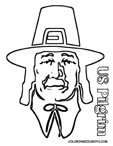 Pilgrim Coloring Pages Thanksgiving Pilgrims Coloring Sheets Pilgrims Coloring Pages Free
