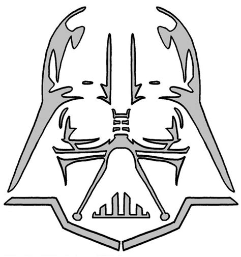 darth vader pumpkin pattern free images