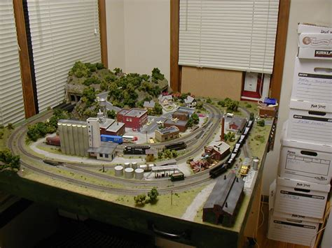 mdl layout greg s incredible 4 x 4 n scale model train layout photo