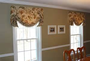 Dining Room Valance Valances Top Treatments Traditional Dining Room Bridgeport By Mitchell Designs Llc