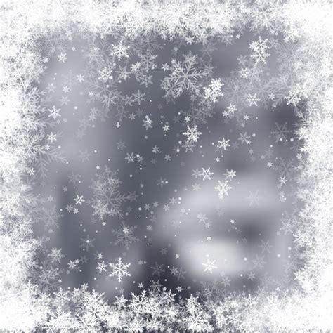 ste con cornice grigio offuscata sfondo con cornice fiocchi di neve