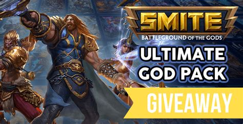 Smite God Pack Giveaway - win a smite ultimate god pack for pc