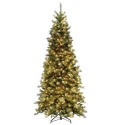 national tree company 7 5 ft tiffany fir slim artificial
