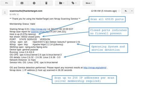 nmap port scanner port scanner powered by nmap hackertarget