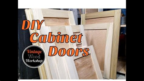diy tongue and groove hardwood cabinet doors kitchen