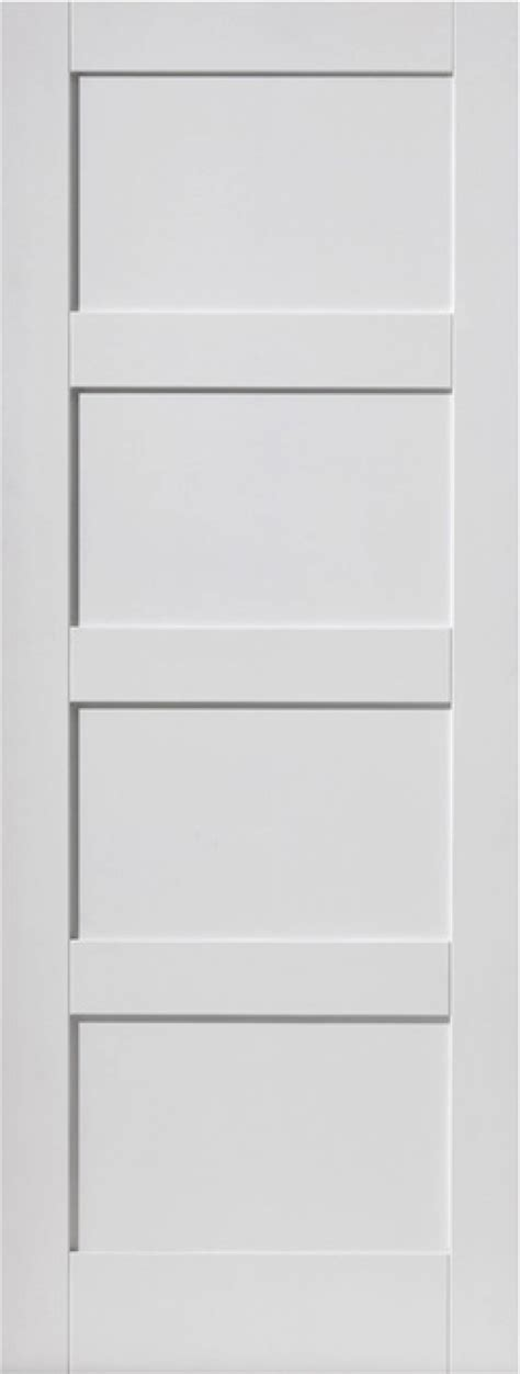 White Panel Interior Doors White Shaker 4 Panel Interior Door Express Doors