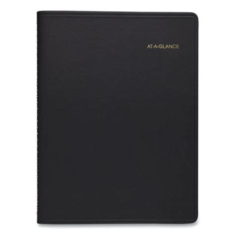 weekly appointment book    black   losco