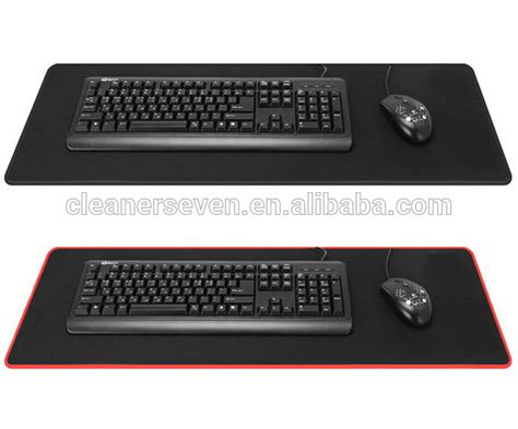 gaming desk mat large size gaming mouse pad edge locked large