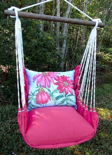 pink swing set pink coneflowers hammock chair swing gardenfun com