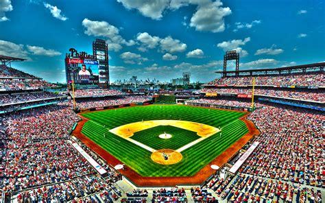 citizens park bank citizens bank park baseball stadium wallpaper 4k hd for