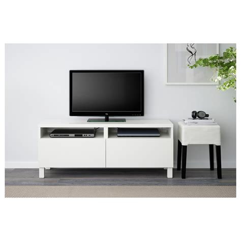 tv bench with drawers best 197 tv bench with drawers lappviken white 120x40x48 cm