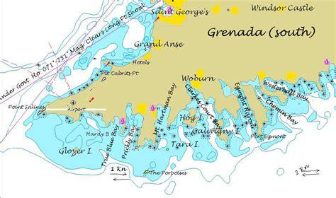 map of grenada island fidelity luxury catamaran charters bvi yacht charters