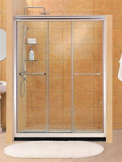 Three Door Shower Doors China Three Sliding Door Shower Screen Qj48 China Three Sliding Door Shower Screen Shower