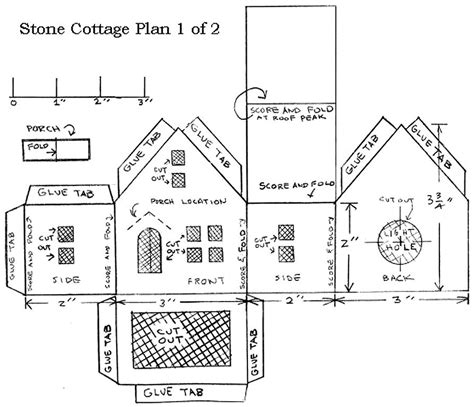 large cottage house plans building a vintage style cardboard cottage