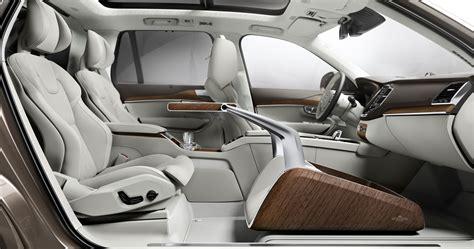 Luxury Home Interior Shanghai 2015 Volvo Xc90 Lounge Console Unveiled Paul Tan