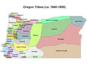 oregon indian tribes map american tribes in oregon search social
