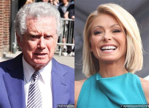 regis philbin and kelly ripa have not spoken in over three regis philbin says very offended kelly ripa hasn t