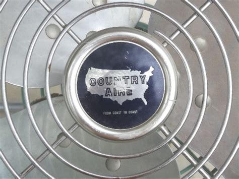 one stop fan shop vintage electric fan mid century mod turquoise aqua blue