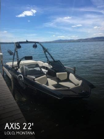axis boats for sale montana sold axis a22 vandall edition boat in lolo mt 114114