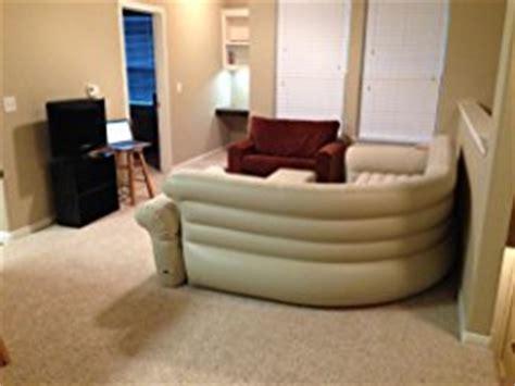 intex blow up couch com intex inflatable corner sofa 101 quot x 80 quot x 30