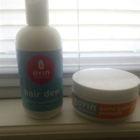 Oyin Handmade Juices And Berries Review - the awkward stage impressions oyin hair dew and