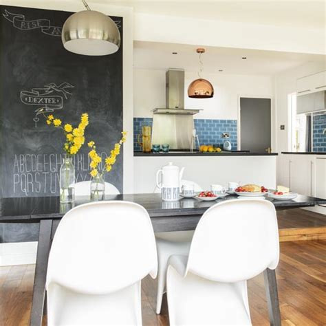blackboard paint screwfix take a tour of this 1960s house in ideal home