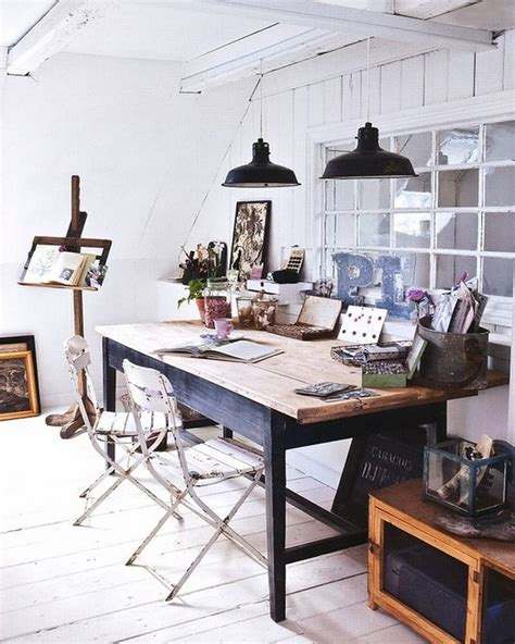 attic work space 10 cool attic home office interior design ideas https
