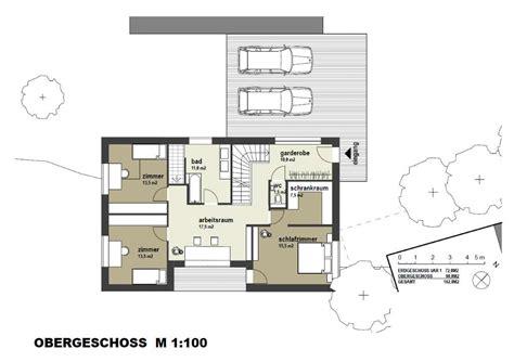 Einfamilienhaus Hanglage Planen by Grundriss F 252 Rs Kompakte Haus Am Hang Grundrissforum Auf