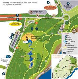 Directions To Botanic Gardens Botanic Gardens And Parks Authority Park Concert Map