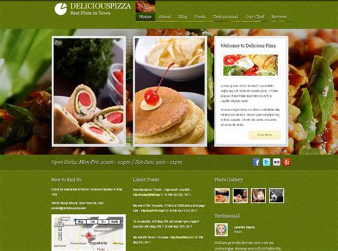 themes wordpress free food ultimate collection of free wordpress themes for food and