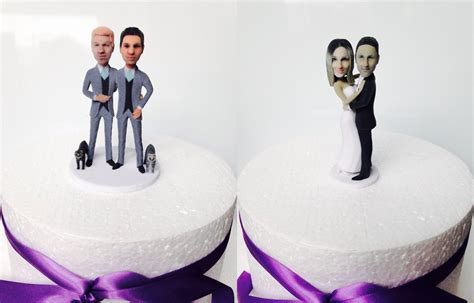 Wedding Cake Figures With Style by 21 Custom Wedding Cake Toppers Tropicaltanning Info