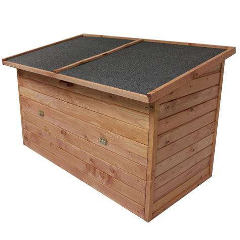 Holztruhe Garten by Gartenbox 128x77x72cm Auflagenbox Holz Truhe Gartentruhe Neu Holztruhe Holzkiste Ebay