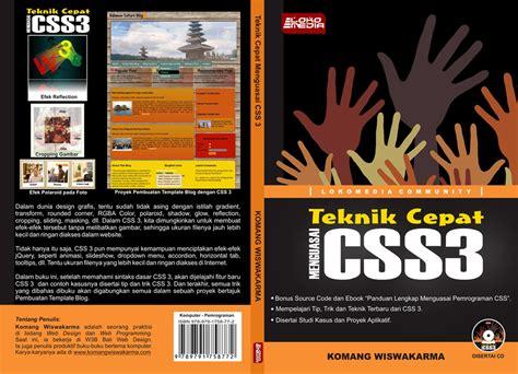 contoh layout buku keren teknik cepat menguasai css 3