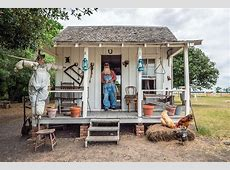 A Sharecropper's Cabin On The George Ranch Historical Park ... Sharecropping House