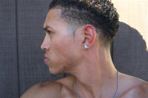 black men haircuts temp fades with curls curly afro temp fade haircut mohawk black haircuts for