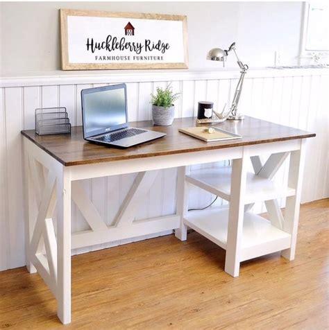 farmhouse x office desk handmade