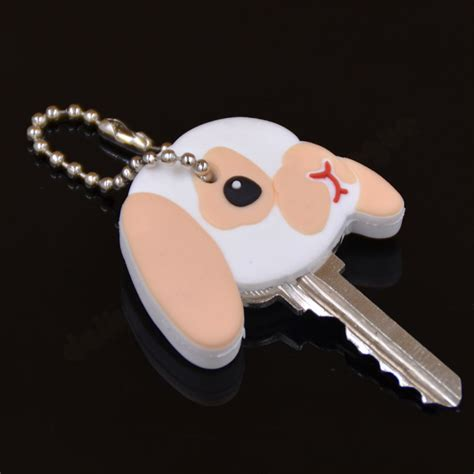 8 Adorable Key Caps by Pug Rubber Key Cover Cap