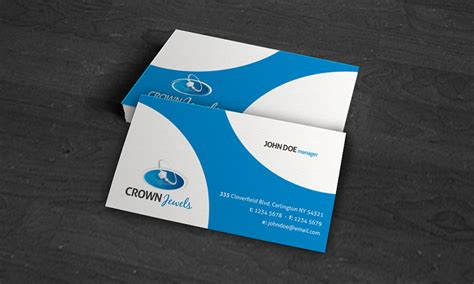 Free Business Card Design Template by Creative Modern Corporate Business Card Template 187 Free