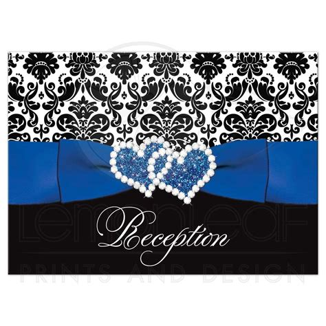 White And Blue Card