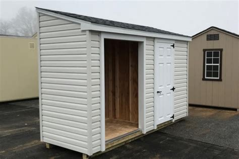 standard vinyl lean  shed lancaster county barns
