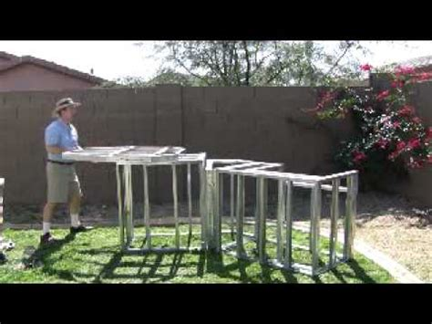 How To Build Your Own Kitchen Island outdoor kitchen mail order frame kits youtube