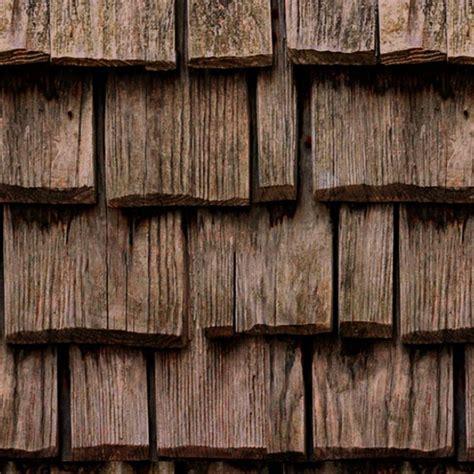 wood shingle roof texture seamless