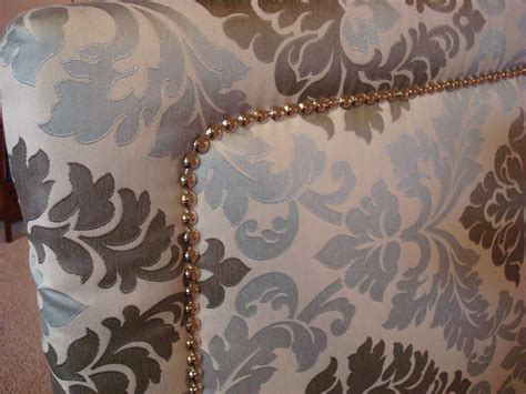 how to make a fabric headboard with legs upholstered headboard with nailhead trim a simple way to