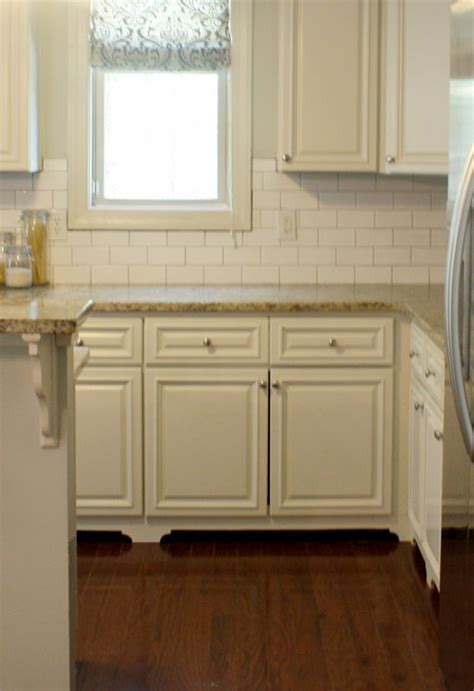 Kitchen Cabinets With Feet | diy feet for the kitchen cabinets kitchen and dining