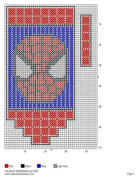 spiderman needlepoint pattern 17 best images about super hero s villian s plastic
