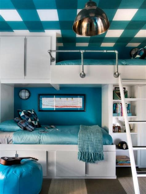 functional  creative diy bunk beds  kids shelterness