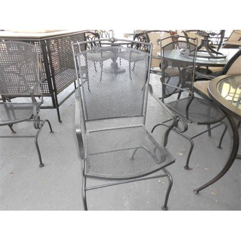 Black Metal Patio Chairs Black Metal Patio Chair