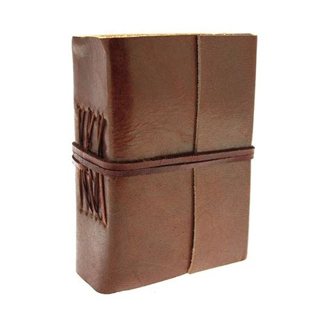 Leather Handmade Journals - handmade plain leather journals by paper high